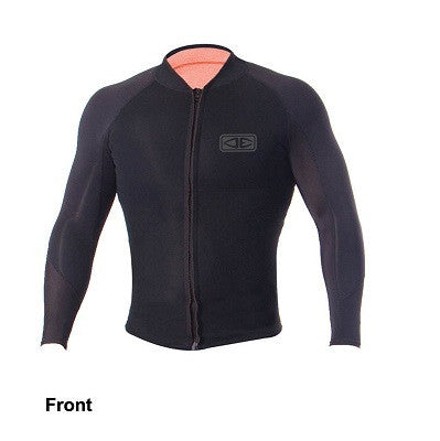 O&E Long Sleeve Wetsuit Zip Jacket