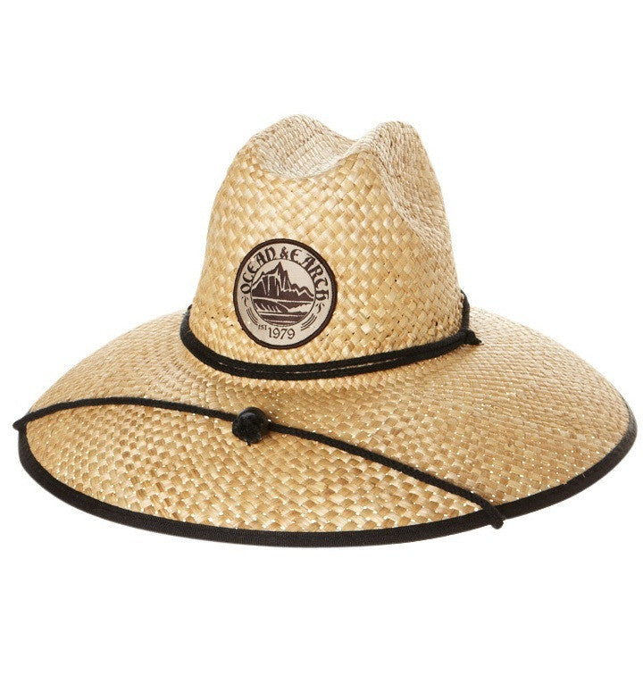 Ocean & Earth Mens Bula Cane Hat Front