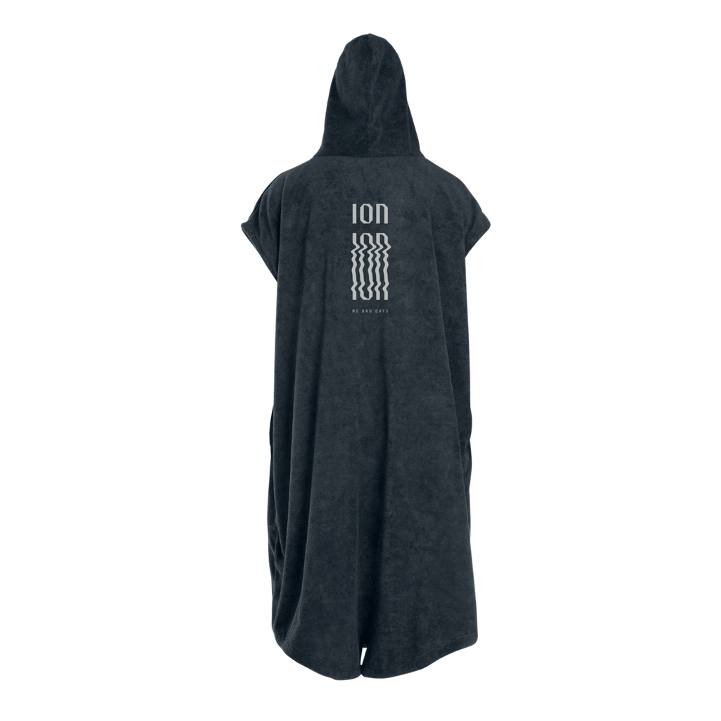 ION Change Poncho Steel Grey Back