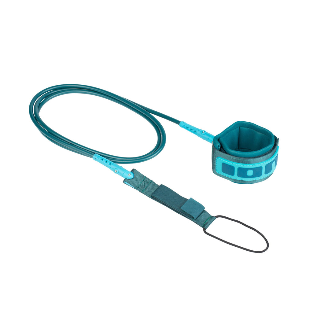 ION Surf Core Leash Legrope Petrol/Turquoise