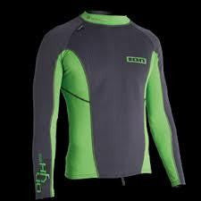 ION Onyx Neo Wetsuit L/S Top Grey/Green 2013