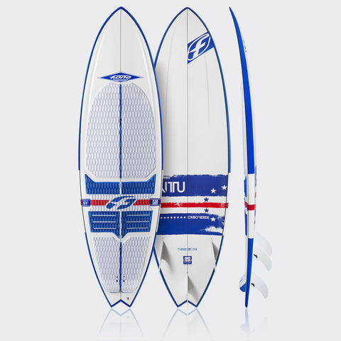 F-ONE Mitu Montero Pro Model Surf Board2015