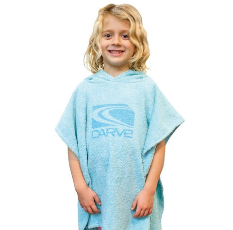 Carve Super Roasty Towelling Poncho
