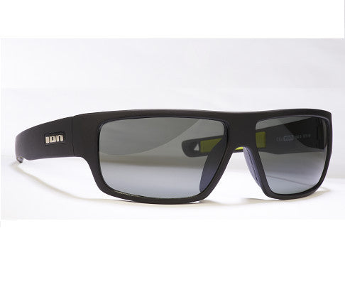 ION Sunglasses Ziggy Polarized Grey Rubberised