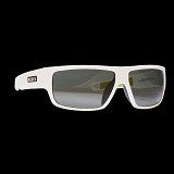 ION Sunglasses Ziggy Polarized Solid White