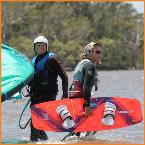 Kitesurfing Lessons Noosa One-On-One
