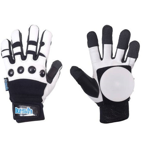Lush Leather Race Slide Gloves