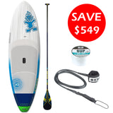 "Starboard Widepoint Carbon 9'5"" SUP Package"