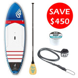 "Fanatic Allwave HRS 9'0"" SUP Package"