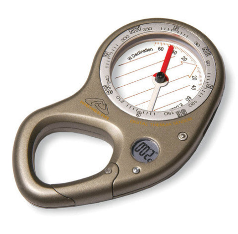 Highgear Trail Pilot 2 Compass + Temperature Carabiner