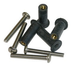 Well Nuts rubber inc screw