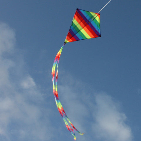 Wind Speed Cloud Diamond Kids Kite