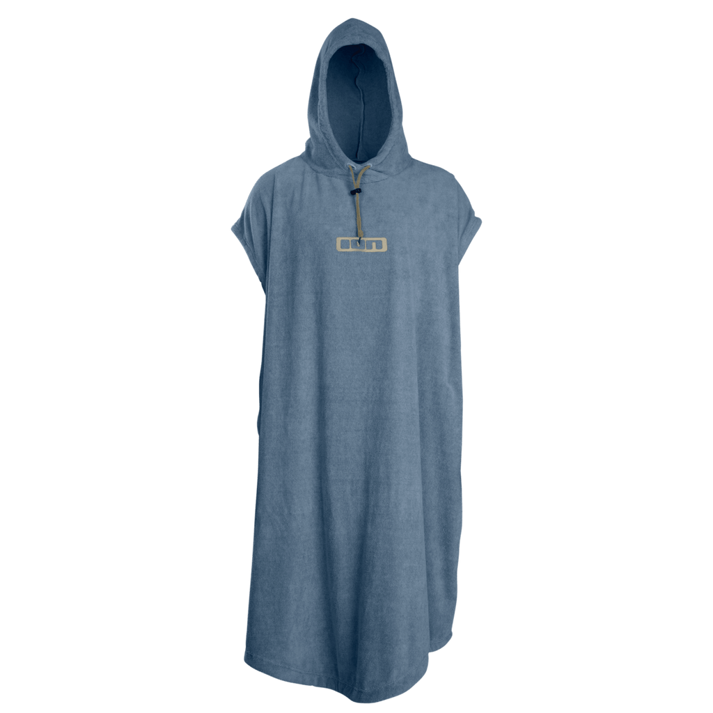 ION Change Poncho Steel Blue Front