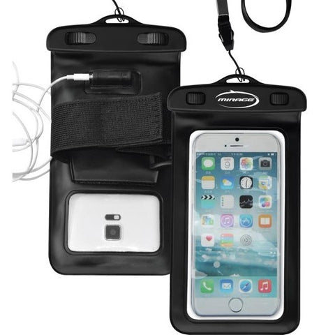 Mirage Phone Pouch with Earpiece and Armband