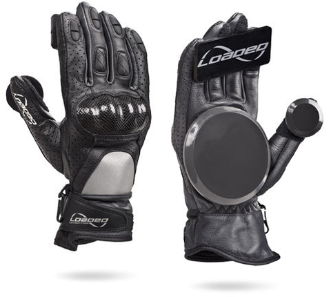 Loaded Leather Race Downhill Gloves