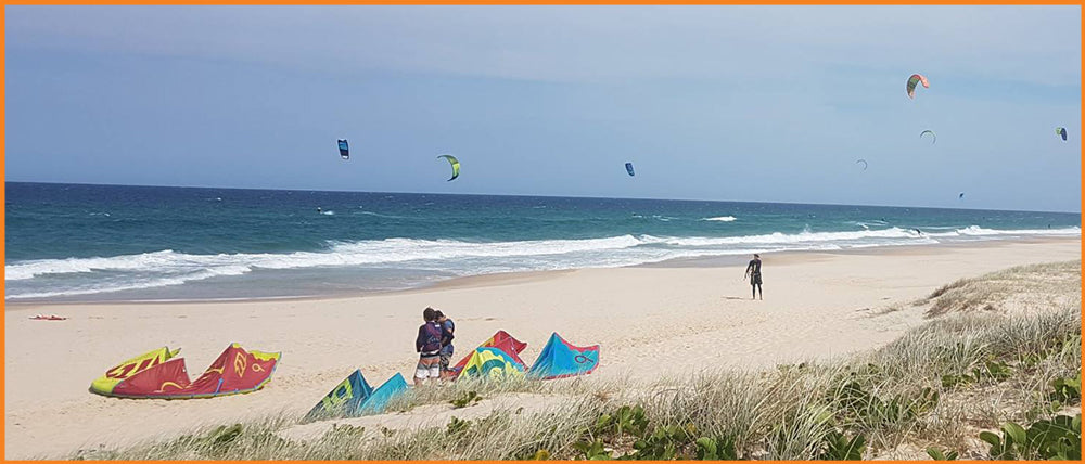Noosa Kitesurfing Downwinder Holiday