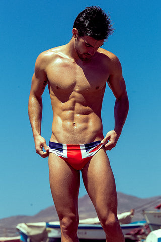 Union Jack Swim Brief