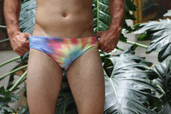 Tie Dye Swim Brief
