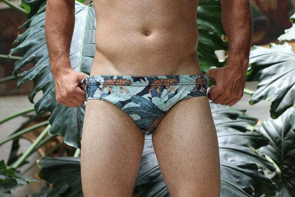 Banana Leaves Swim Brief