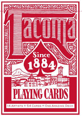 Tacoma Playing Cards - The Red Deck