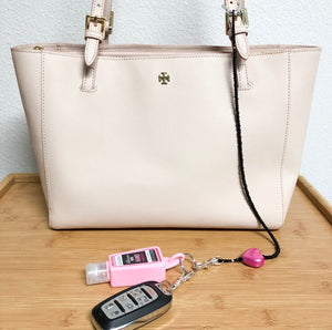 Pink Kitty Love Key Leash