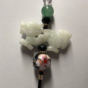 Jade Dragon Lanyard