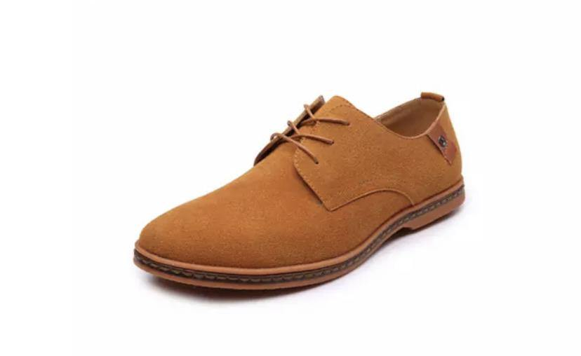 Oxford Suede Leather Shoes - BellaNiecele