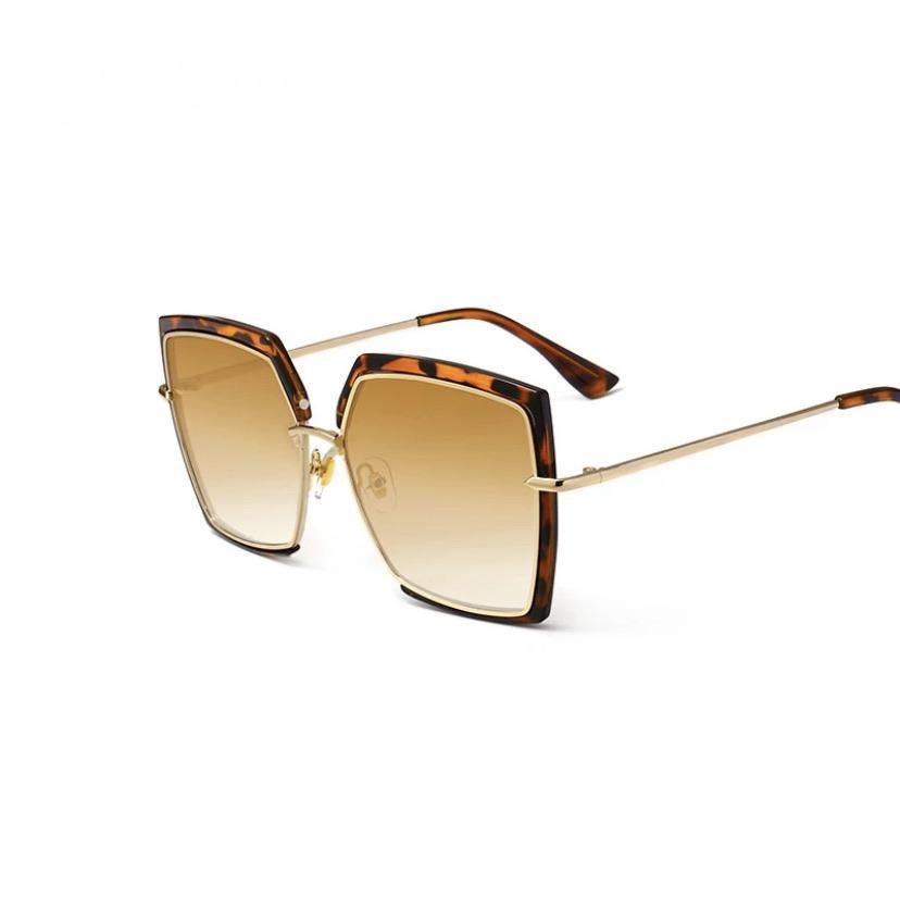 Big Frame Square Sunglasses - BellaNiecele