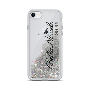 在幻灯片中打开图片,Liquid Glitter Phone Case - BellaNiecele