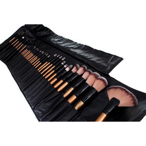 Hollywood Make Up Brush Set - 32 Piece - Beau Belle Brushes