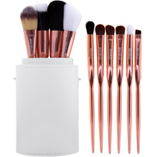 Load image into Gallery viewer, Limited Edition Rose Gold Make Up Brush Pot - 10 Piece - Beau Belle Brushes