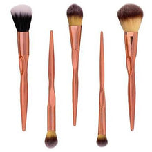 Load image into Gallery viewer, Rose Gold Essential Set - 5 Piece - Beau Belle Brushes