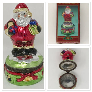 Collectible Santa with Keepsake Compartment by Christmas Fantasy Ltd. Housewarming Gift