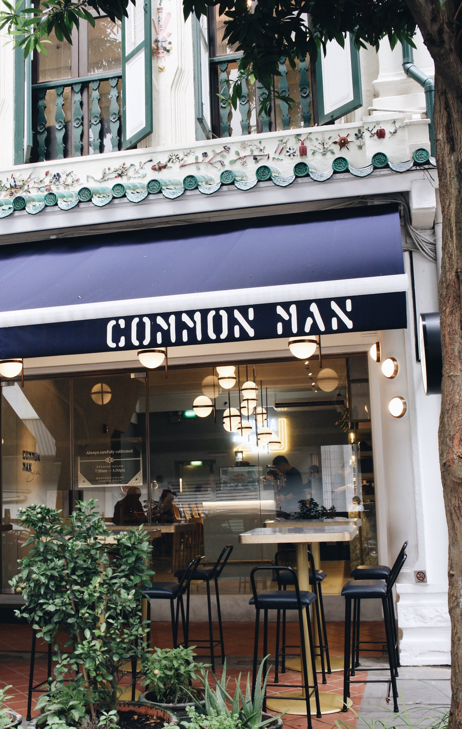 common man, singapore coffee, loveramics, specialty coffee, barista, coffee cups, interior, common man stan