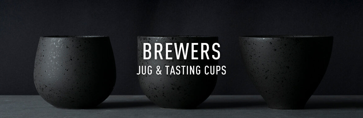 brewers: coffee jugs and tasting cups - Loveramics