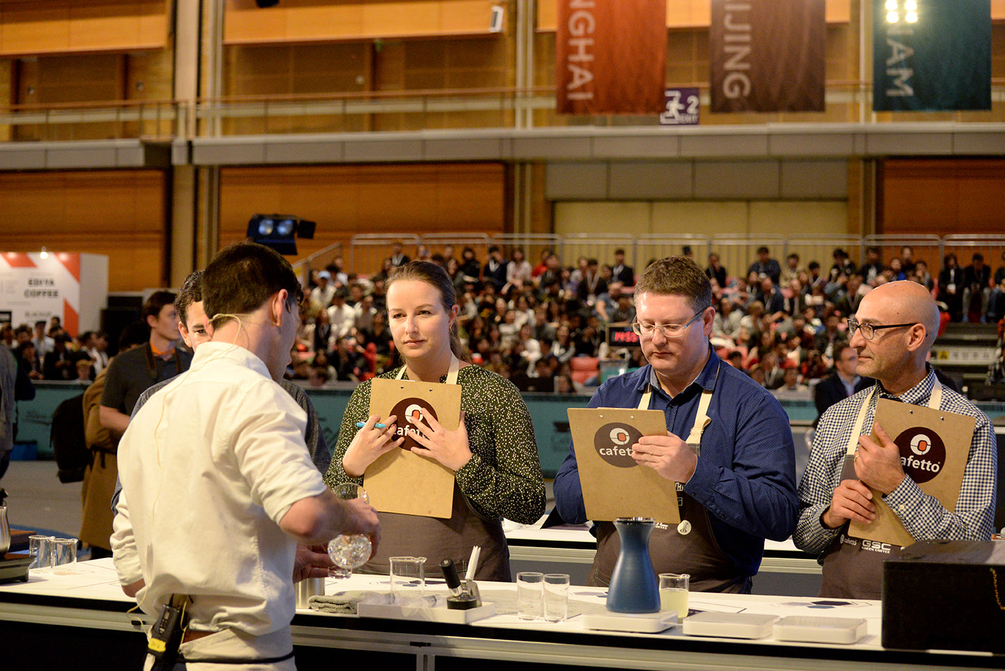 World Barista Championship Loveramics 2017