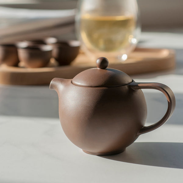 Pro Tea 180ml Chinese Teapot (Brown)