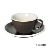Egg 150ml Flat White Cup & Saucer (3 Potters)