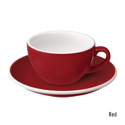 Egg 150ml Flat White Cup & Saucer