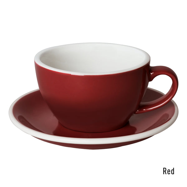 Egg 250ml Cappuccino Cup & Saucer