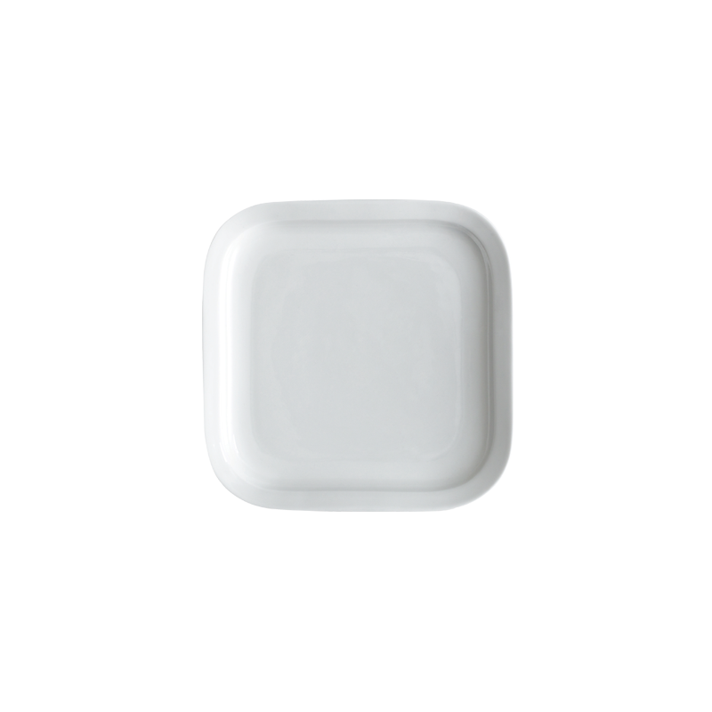 Er-go! System 20cm Square Side Plate (White)