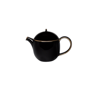 Studio 0.4L Teapot with Infuser (Black)