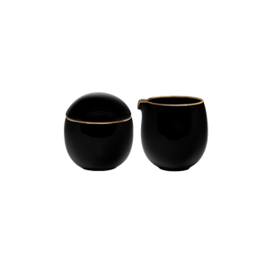 Studio 300ml Sugar and Creamer (Black)
