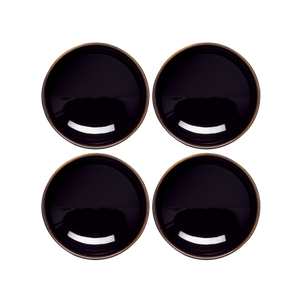 Studio Set of 4 x 9cm Sauce Dish (Black)