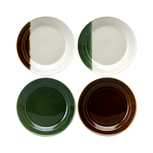 Sancai Set of 4 Side Plates (Assorted)