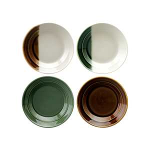 Sancai Set of 4 Sauce Dish (Assorted)