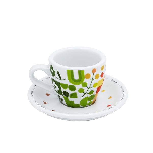 """The Colours of Coffee"" 80ml egg espresso Cup & saucer gift set (limited edition)"