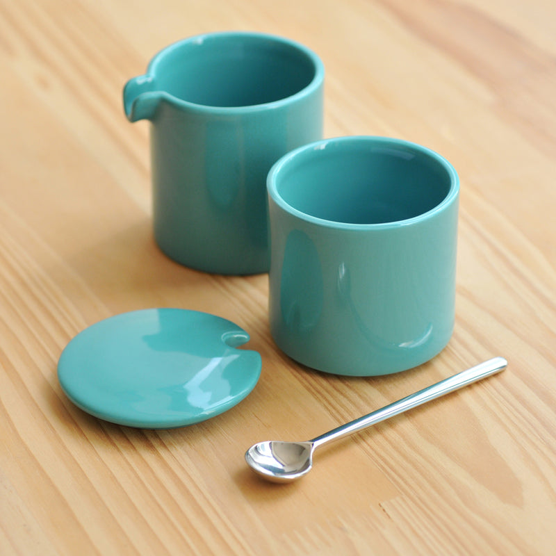 Bond 90ml Sugar and Creamer + Spoon Set