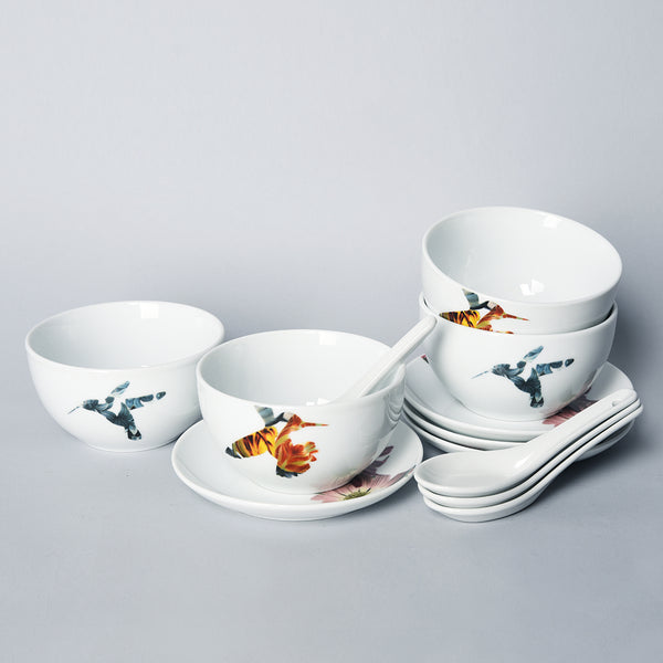 Flutter - 12pc Bundle for 4 People - Oriental (FLR)