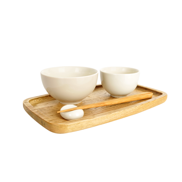 Nordic Tray 30cm Oak Tea Tray (Natural)